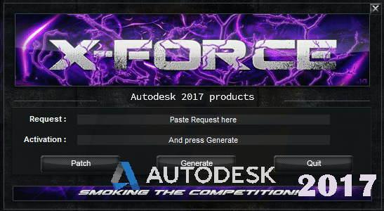 autodesk 2017 crack xforce download