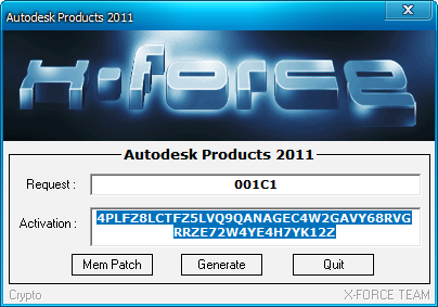 x force keygen autocad 2011 64 bit